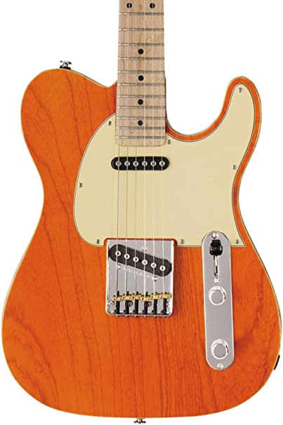 G & L antisatélite Classic guitarra eléctrica Claro Naranja ...