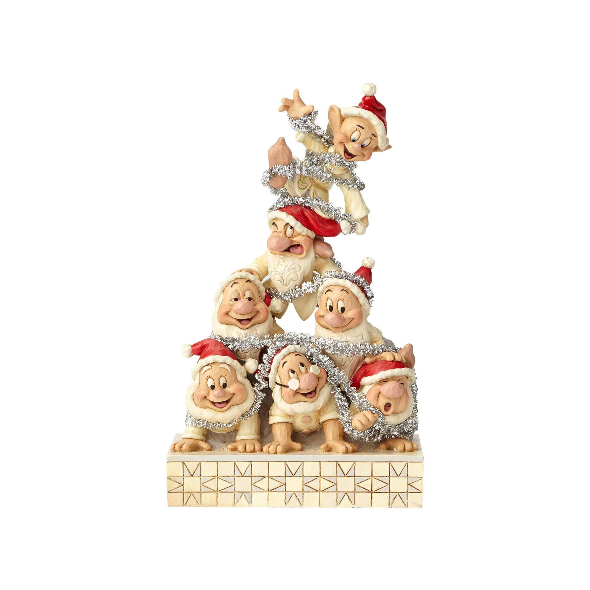 Enesco White Wonderland Seven Dwarfs Figure Standard by Enesco