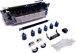 Altru Print C8057A-MK13-AP (C8057-69001 C8057-67901) Deluxe Maintenance Kit for HP Laserjet 4100 (110V) Includes RG5-5063 Fuser & Tray 1-4 Deluxe Roller Kit with Pickup Rollers for Tray 2