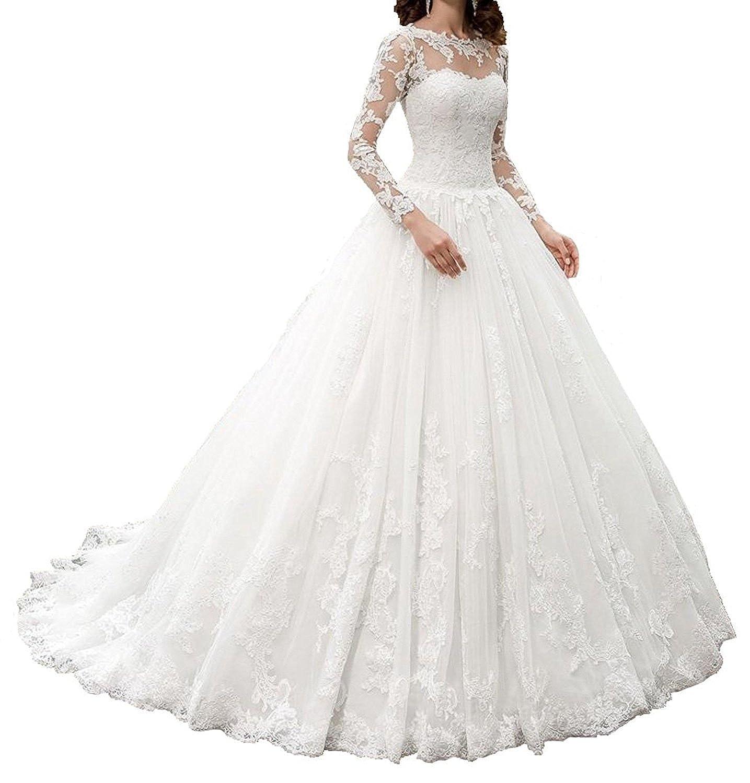 Nanger Damen A Linie Spitze Hochzeitskleider Große Größe Kurz