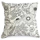 Amazon.com: Doodle Dinosaur Pillowcase, Color Your Own Pillow Case ...