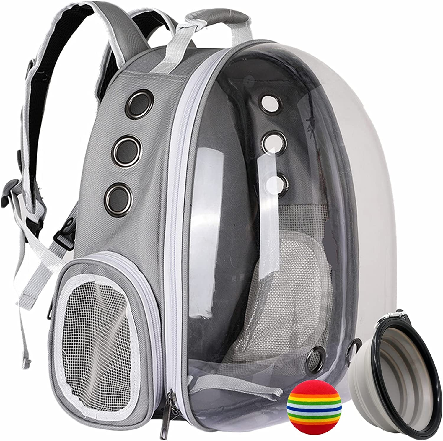 WISHCLCL Pet Carrier Backpack Indianapolis Mall for Cats Ca Small Dogs Bubble Spasm price and