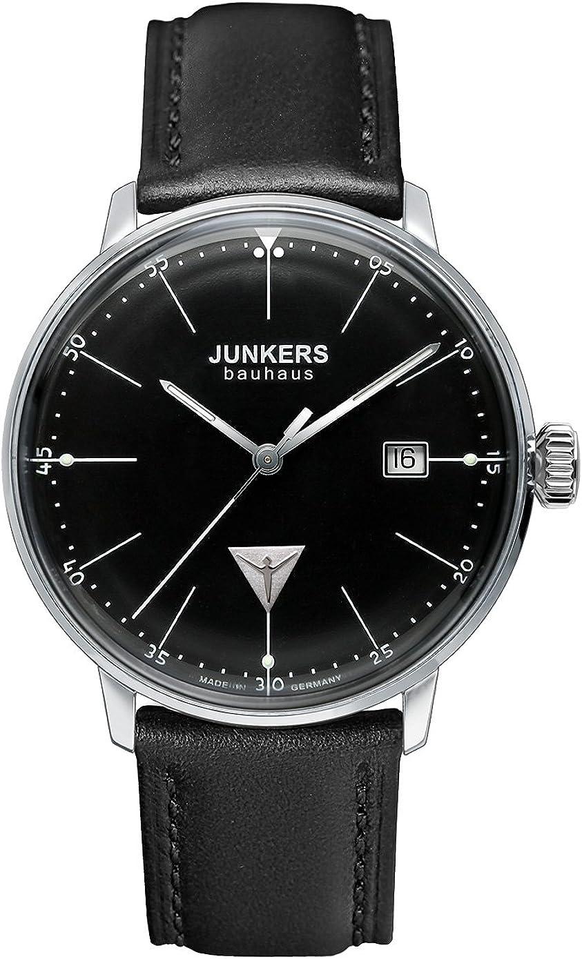 Junkers Reloj Analógico de Cuarzo para Hombre con Correa de Cuero – 60702