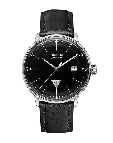 Junkers Reloj Analógico de Cuarzo para Hombre con Correa de Cuero - 60702: Junkers: Amazon.es: Relojes