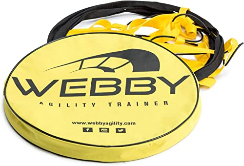 Webby Agility Trainer Circle Speed and Agility Ladder for High Intensity Footwork Drills and Skills A Circular Piece of Training Equipment That Changes The Way You Move