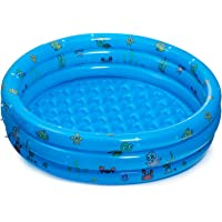 WOYEZI Round Inflatable Pool Baby Swimming Pools, 51''x16'' Kiddie Paddling Pool Indoor&Outdoor Toddler Water Game Play…