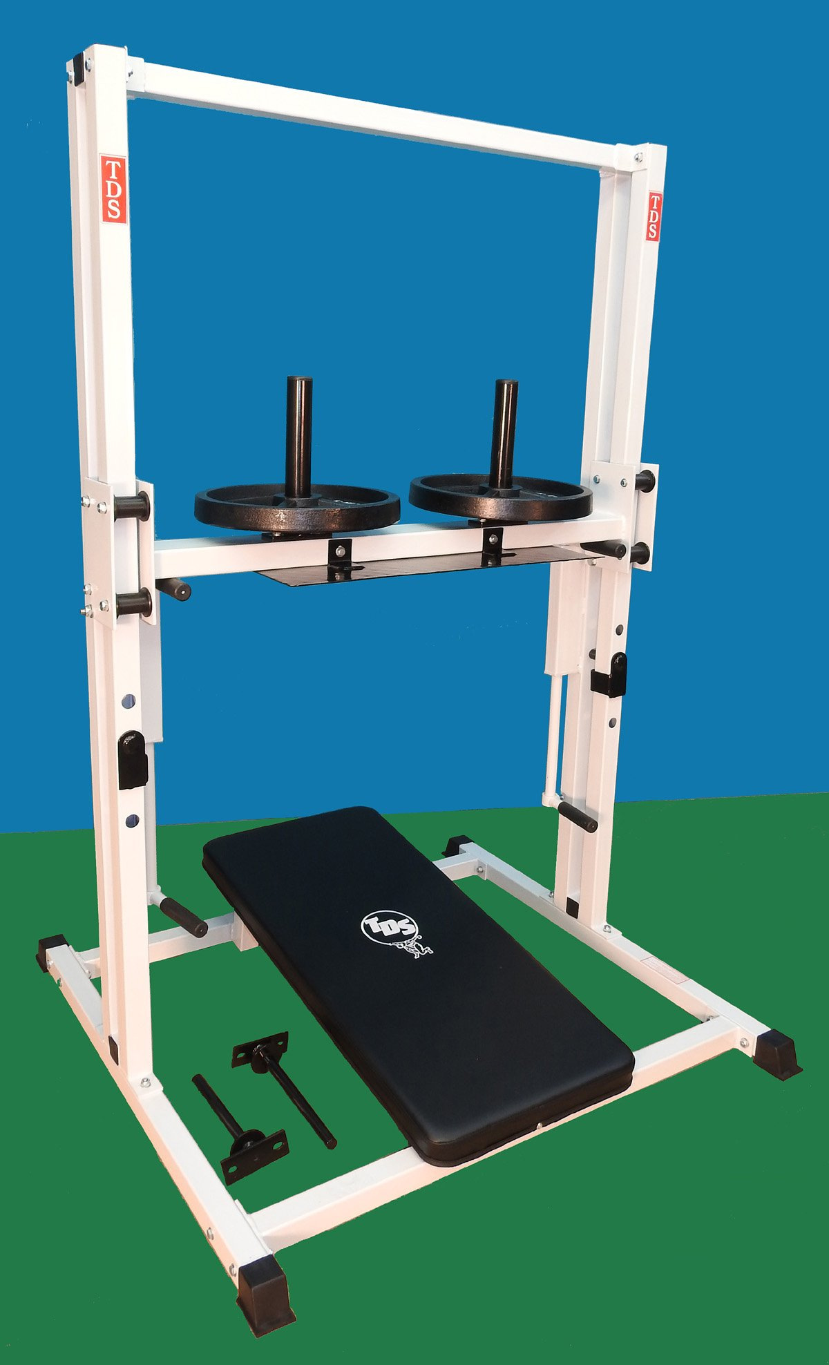 Premier Vertical Leg Press by TDS