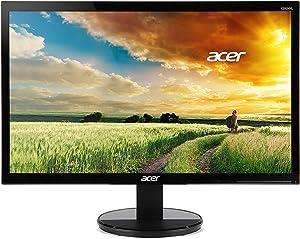 "Acer K2 23.8"" Widescreen Monitor Full HD 1920 x 1080 4ms GTG 60 Hz 250 Nit VA (Renewed)"