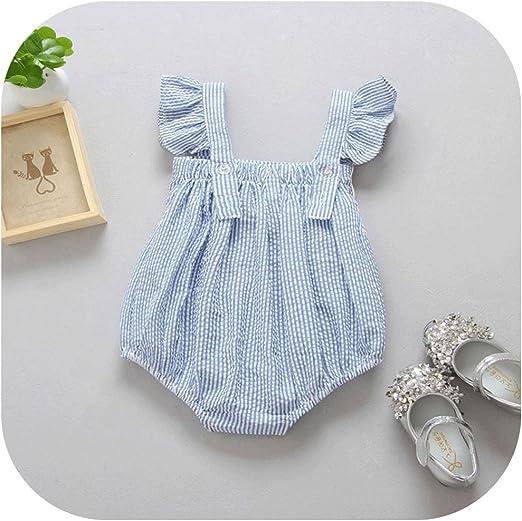Amazon.com: molyveva recién nacido bebé niña lindo Pelele ...