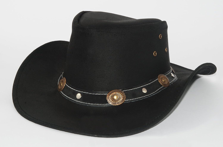 Scippis Elreno Leather Hat Australian Genuine
