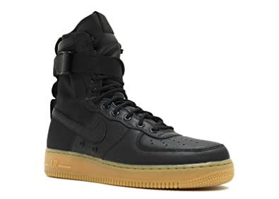 67ccd488fe2a Nike Air Force 1 SF Special Field Black Gum - Black Black-Gum Light Brown  Trainer  Amazon.co.uk  Shoes   Bags