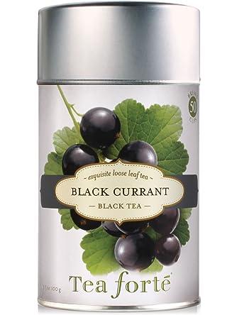 Tea Forte Black Currant Loose Leaf Black Tea, 3.5 Ounce Tea Tin