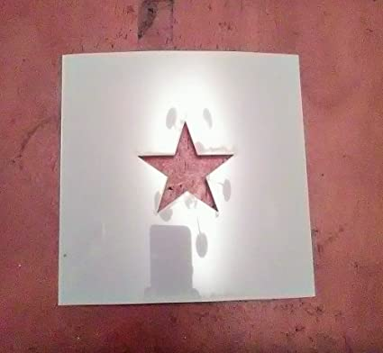 amazon com star shape stencil 2 inch