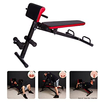 Cclife Back Trainer Sit Up Home Fitness Equipment Bench