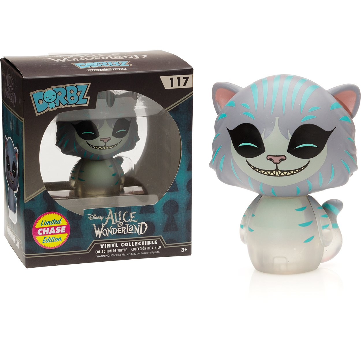 Cheshire Cat : Funko Dorbz x Disney Alice in Wonderland Mini Vinyl Figure 078164 BCC9488Q0 1 FREE Classic Disney Trading Card Bundle Chase