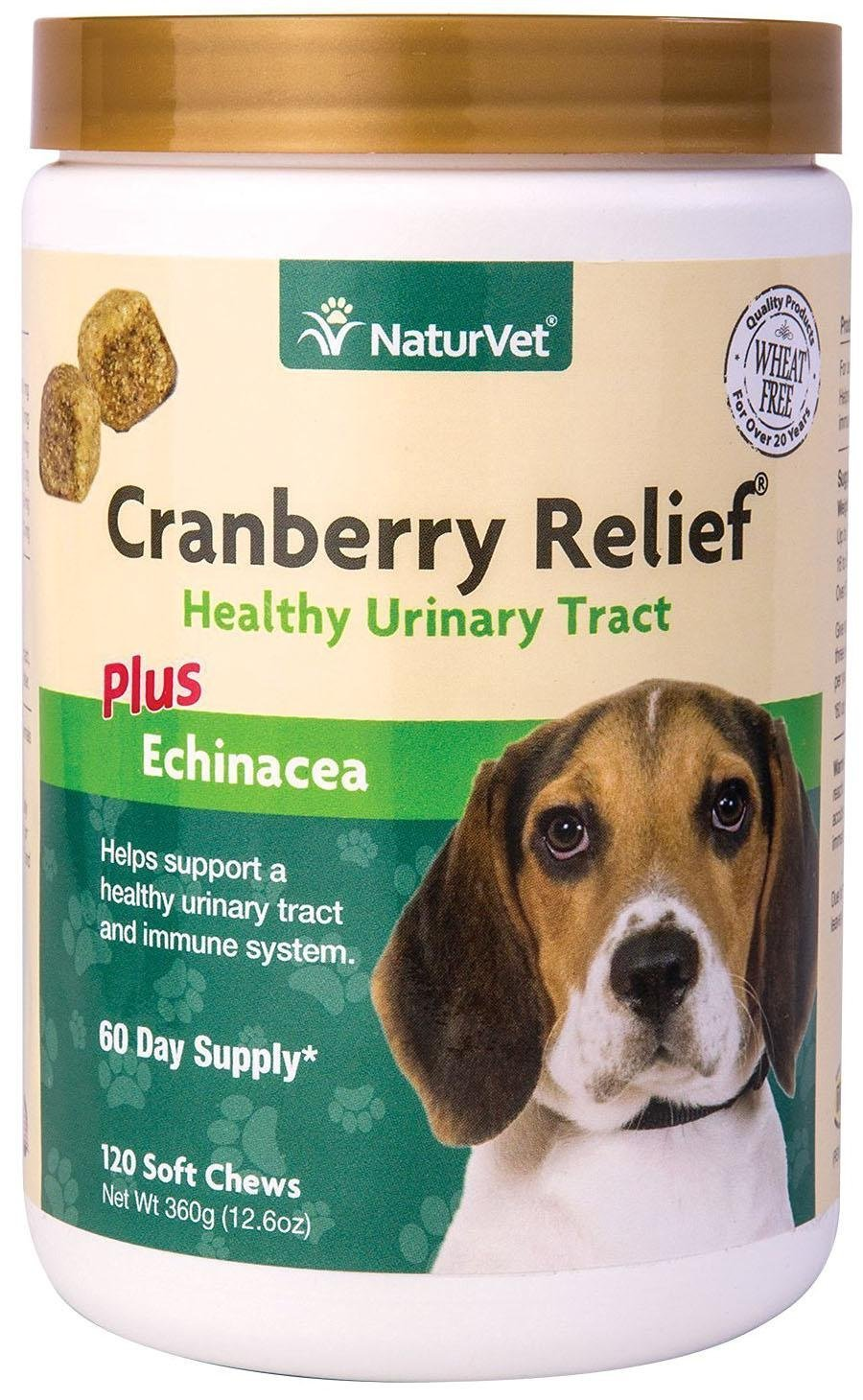 120-Count Naturvet Cranberry Relief Soft Chew (Jar)