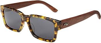157cb5729c Proof Eyewear Unisex Bannock Black Tiger Camo Eco Wood Handcrafted Water  Resistant Wooden Sunglasses