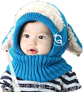 YiyiLai Winter Warm Kindermützen Zipfelmütze Schlupfmütze Mützenschal Sturmhauben