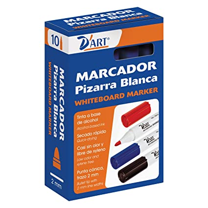 Amazon.com : D Art - Pack of 10 Markers Slate Blue ...