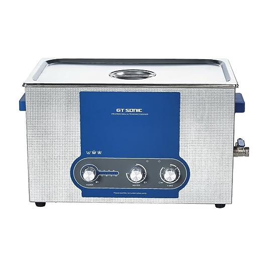 5 opinioni per Floureon 20L Pulitore ad Ultrasuoni- Riscaldamento Timer Ultrasonic Cleaner