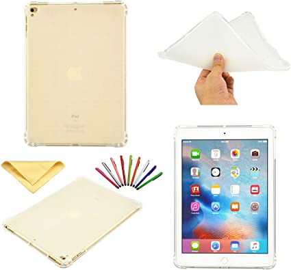 """For Apple iPad 6th Gen 2018 2017 9.7/"""" Clear Soft Case Bumper Shockproof Cover US"""
