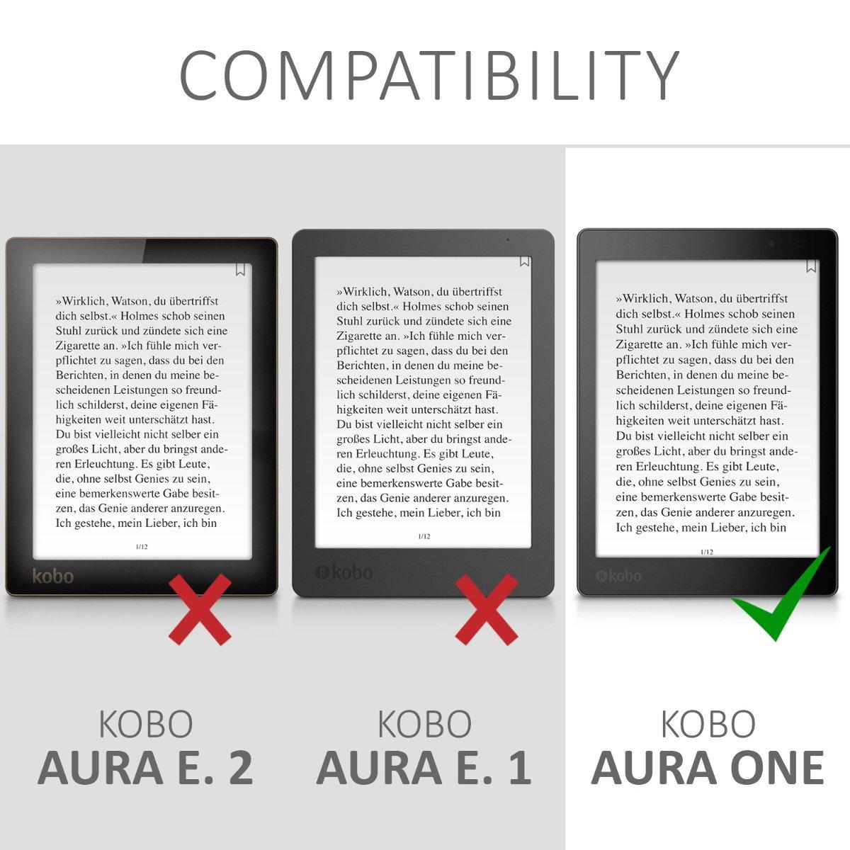 kwmobile Funda compatible con Kobo Aura ONE - Para eReader - con ...