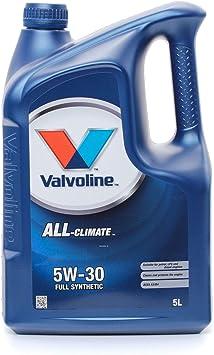 Valvoline Motoröl Motorenöl Motor Motoren Öl Motor Engine Oil Benzin Diesel Flüssiggas All Climate 5w 30 5l Auto