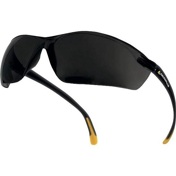 9d7ec5a8f8 Delta plus - Gafas de protección con lentes de policarbonato modelo Meia  (Talla Única/Humo): Amazon.es: Ropa y accesorios