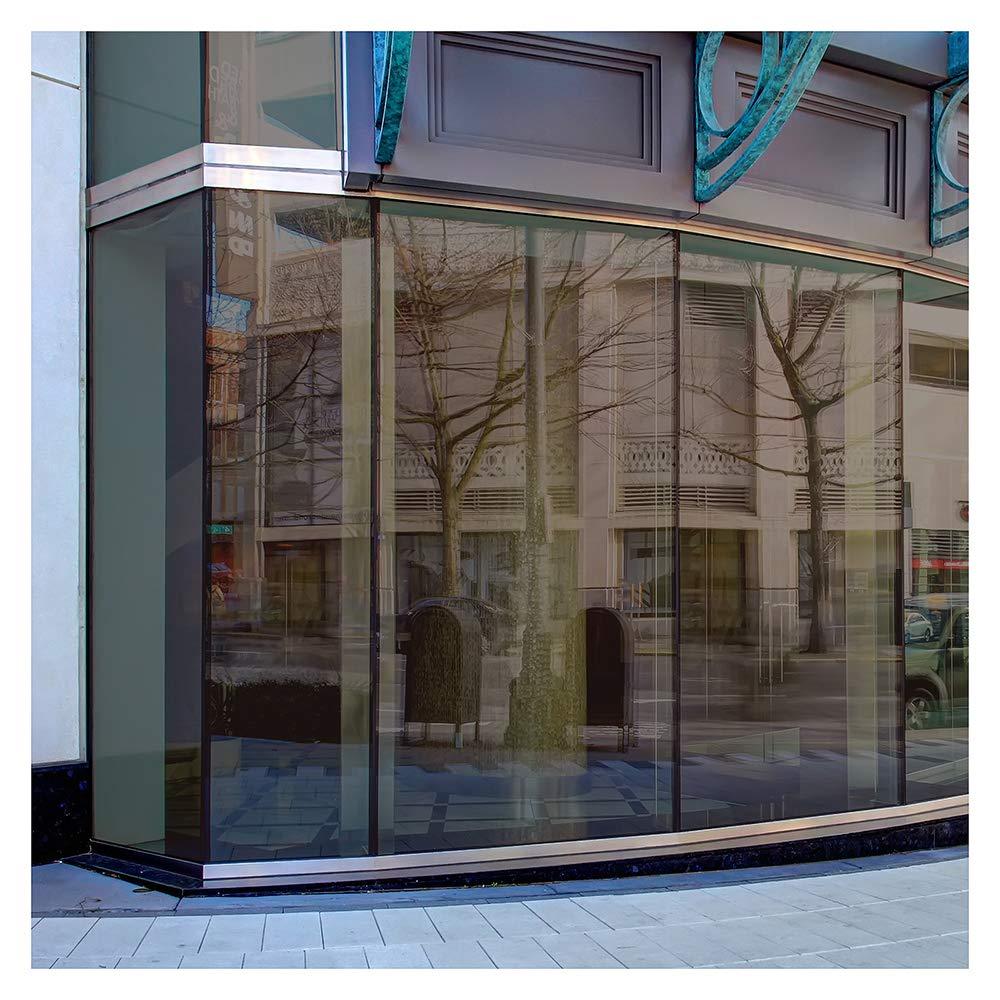 BDF BRZ20 Window Film Bronze Reflective Sun Control and Privacy (Dark) - 36in X 7ft by Buydecorativefilm