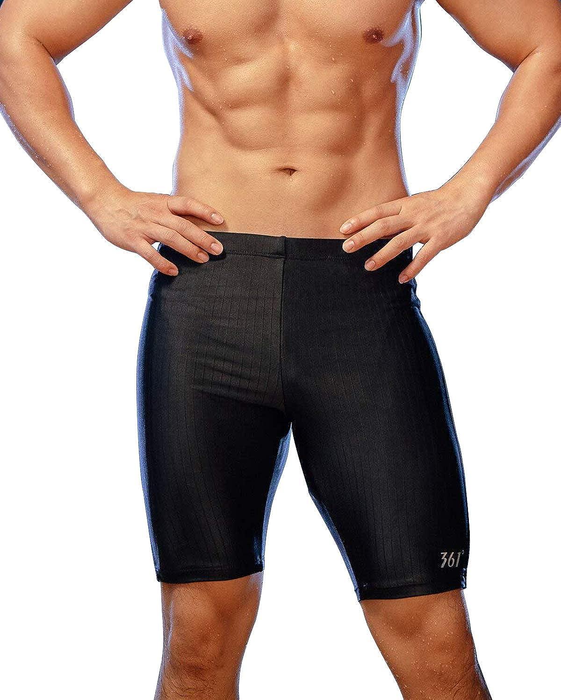 361° Swim Jammers for Men, Pro Racing Training Swimsuit, Chlorine Resistant Endurance
