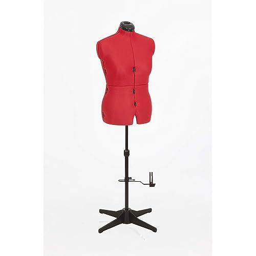 Adjustoform 023817/Red Sew Simple 8-Part Adjustable Dressmaking Dummy UK 16-22