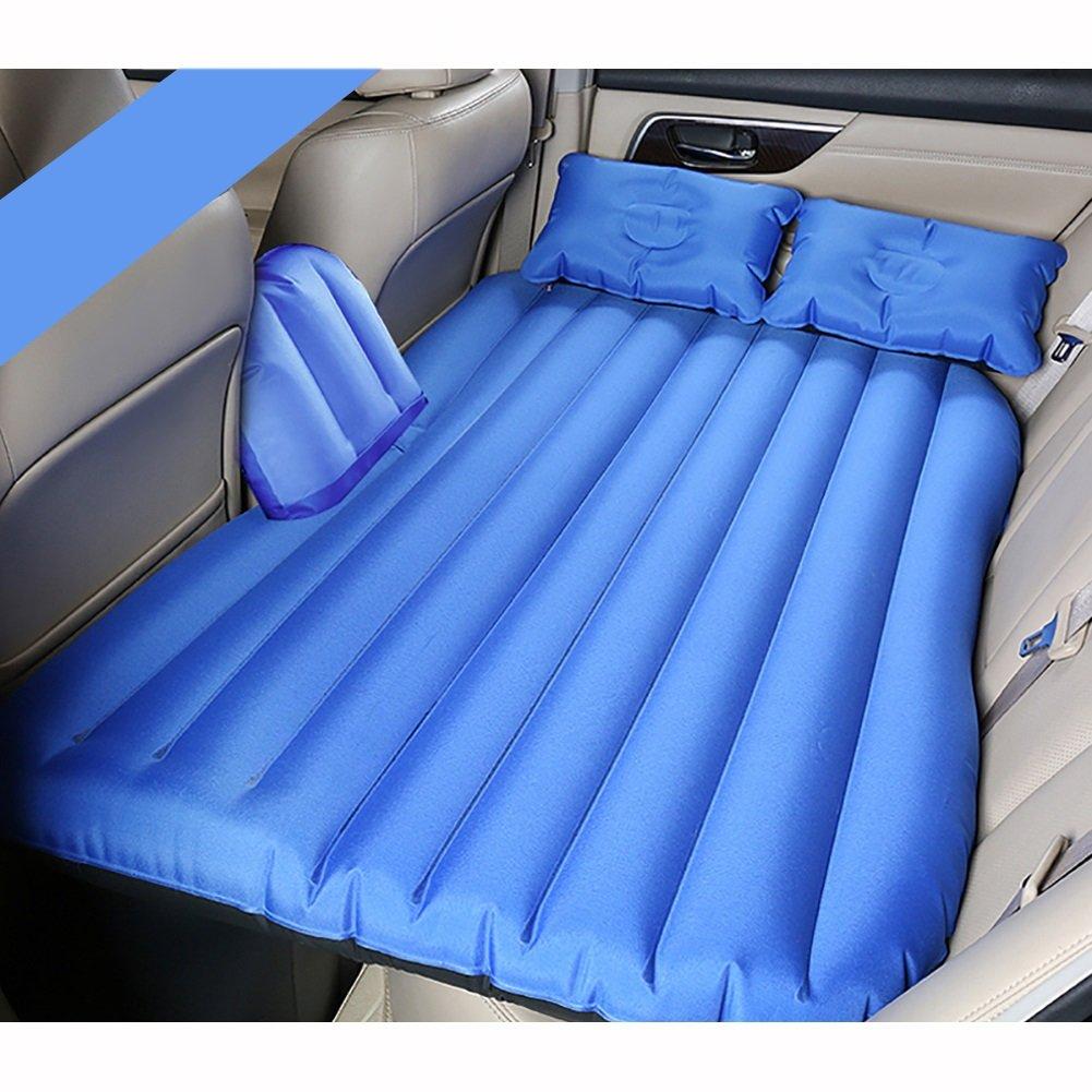 Auto Luftmatratze, komfortabel und tragbar langlebig und robust umweltfreundlich, vielseitig für eine Vielzahl von Szenen eingebaute Luftpumpe und Kissen, in vier Farben erhältlich.