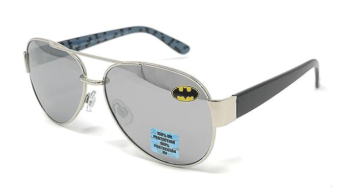 483d0580e80 Image Unavailable. Image not available for. Colour  DC Comics Batman Kid s  Aviator Sunglasses ...
