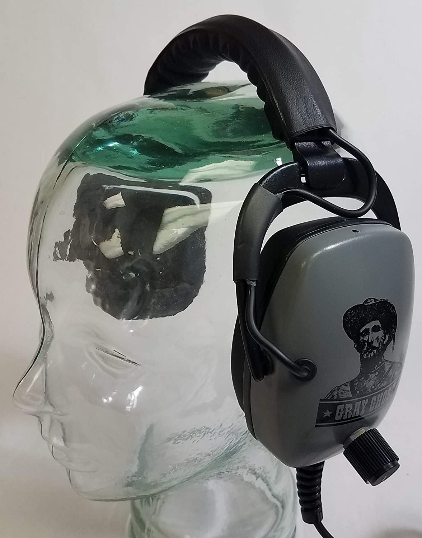 Amazon.com: Detector PRO Gray Ghost Headphones for Whites MX Sport: Garden & Outdoor