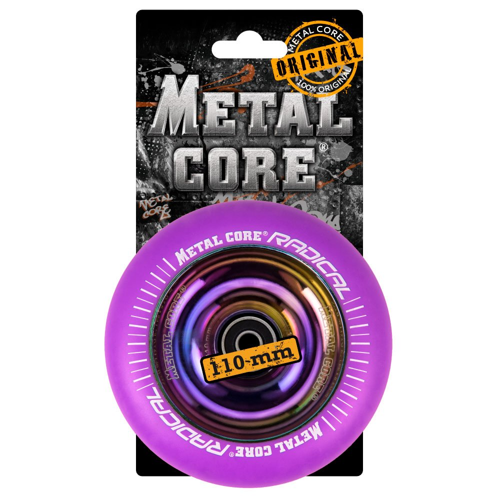 Metal Core Rueda Radical Rainbow para Scooter Freestyle ...