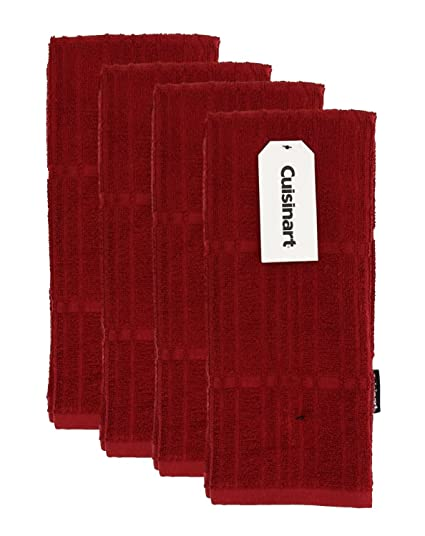 Cuisinart Bamboo Kitchen, Hand and Dish Towels - Absorbent, Light-Weight,  Soft and Anti-Microbial-Dry Hands and Dishes-Premium Bamboo/Cotton Blend –  ...