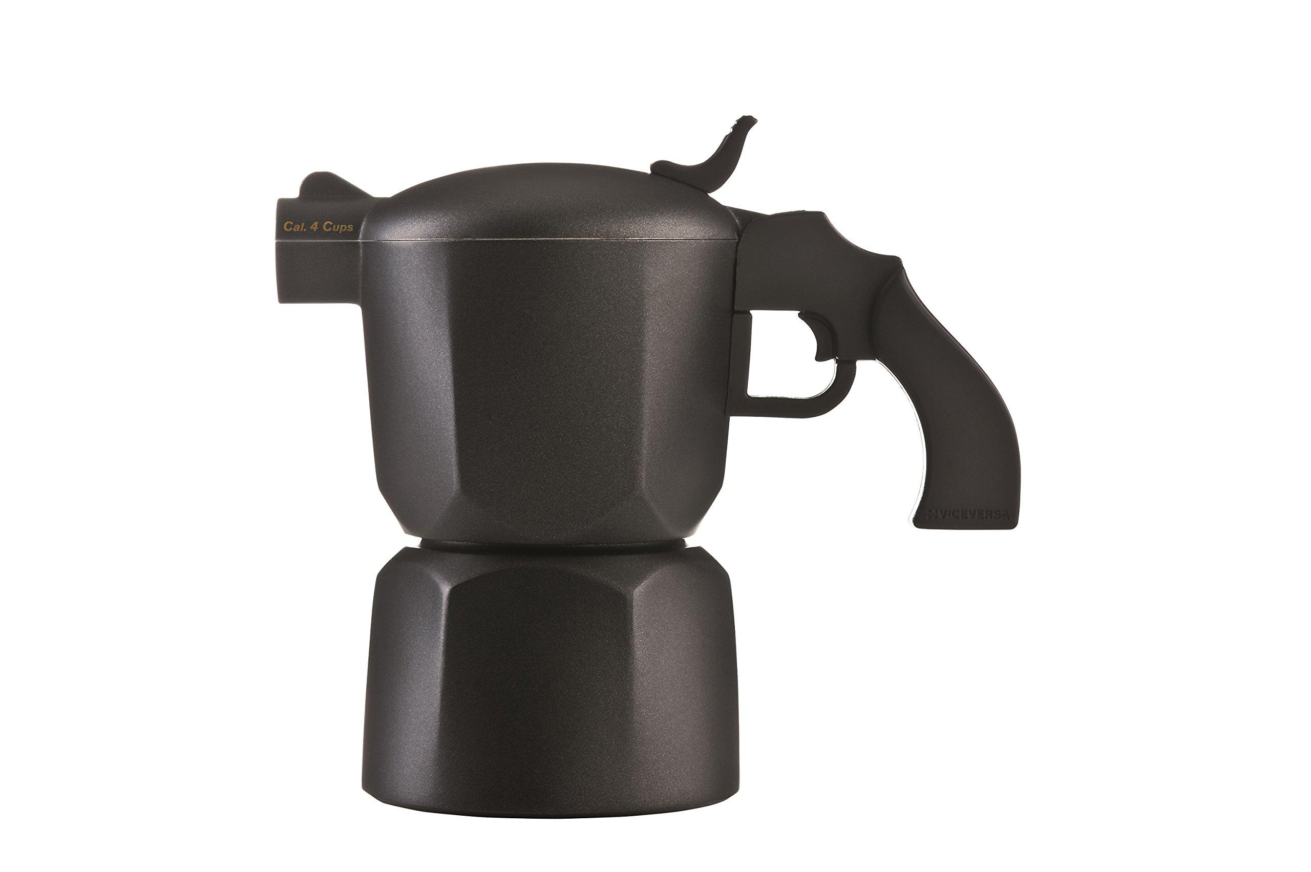 Viceversa: Coffee Maker Noir 4 Cups [ Italian Import ]