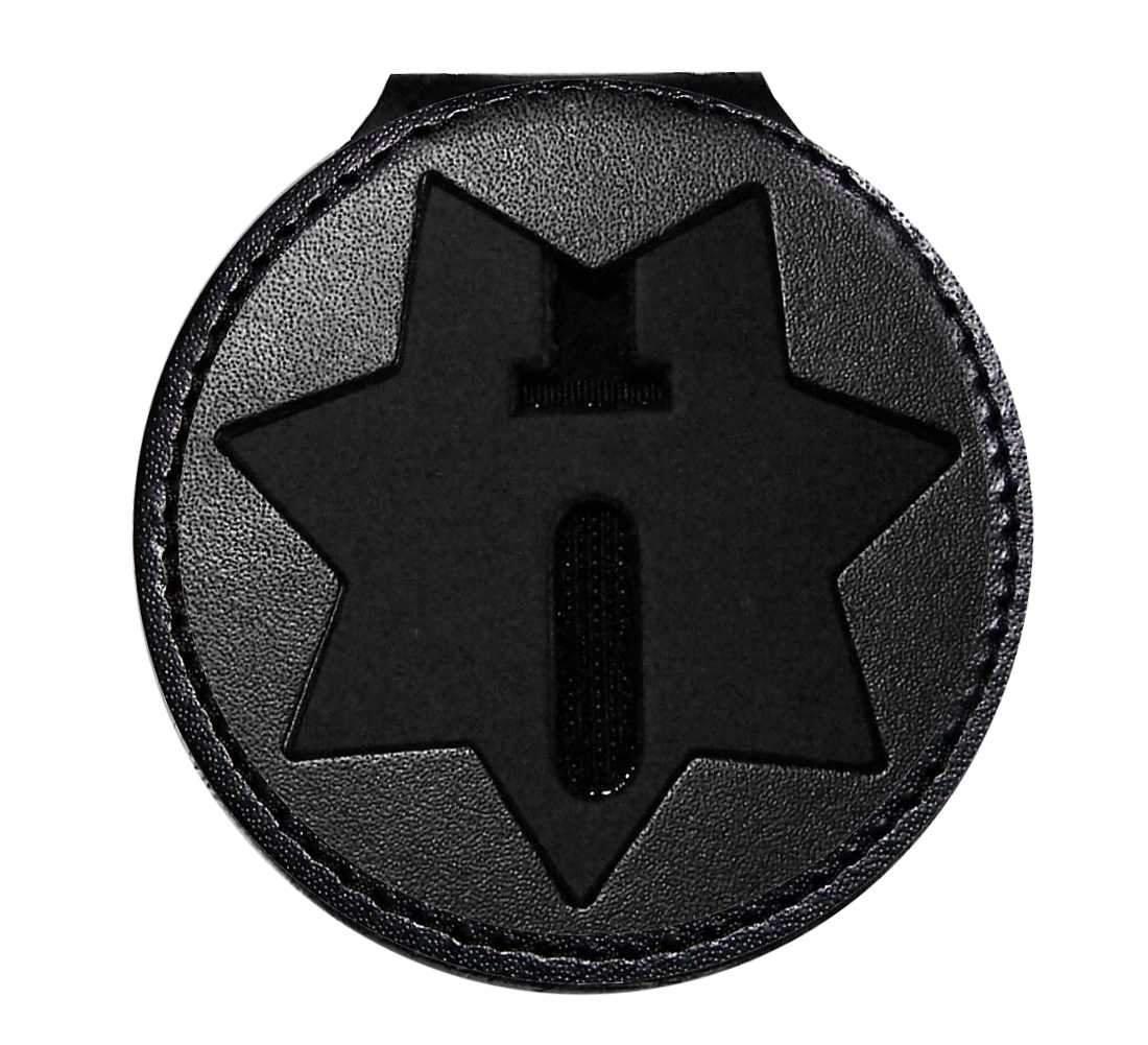 California Dept of Corrections Belt Clip Badge Holder (Cutout PF215)