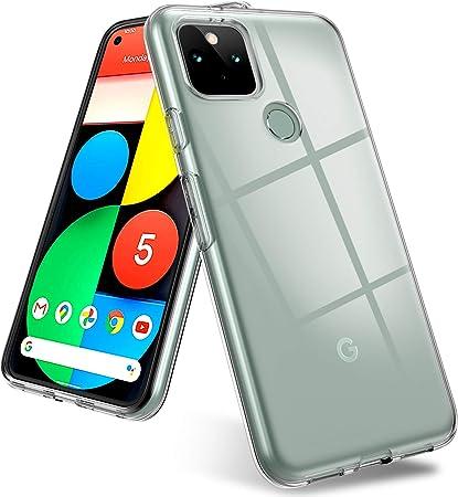 Ainoya Transparent Soft Compatible With Google Pixel 5 Elektronik