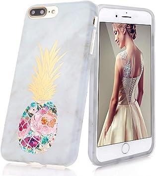 DOUJIAZ Funda iPhone 7 Plus/8 Plus, Funda de Silicona Suave Case ...