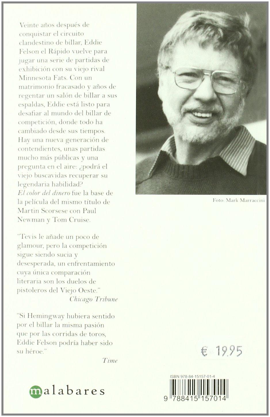 Color Del Dinero,El (Malabares): Amazon.es: Walter Tevis, Rafael ...