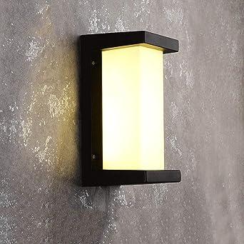 L À Murale l'éclairage Étanches Applique Extérieur Appliques 9IEeYHD2W