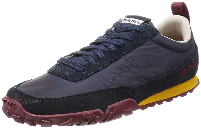 Diesel, Zapatillas para Hombre 45 Marino: Amazon.es: Zapatos y complementos