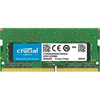 Crucial 8GB DDR4 2400 módulo de - Memoria (8 GB, 1 x 8 GB, DDR4, 2400 MHz, 260-pin SO-DIMM)