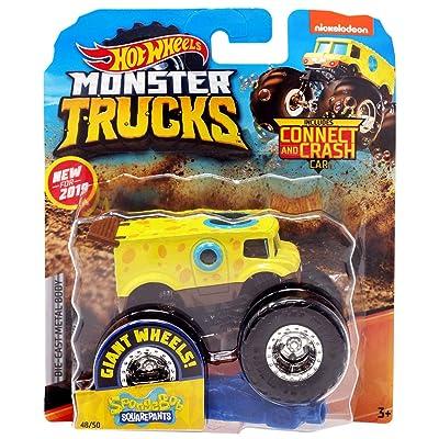 Hot Wheels 2020 Monster Trucks Spongebob Squarepants 1:64 Scale: Toys & Games
