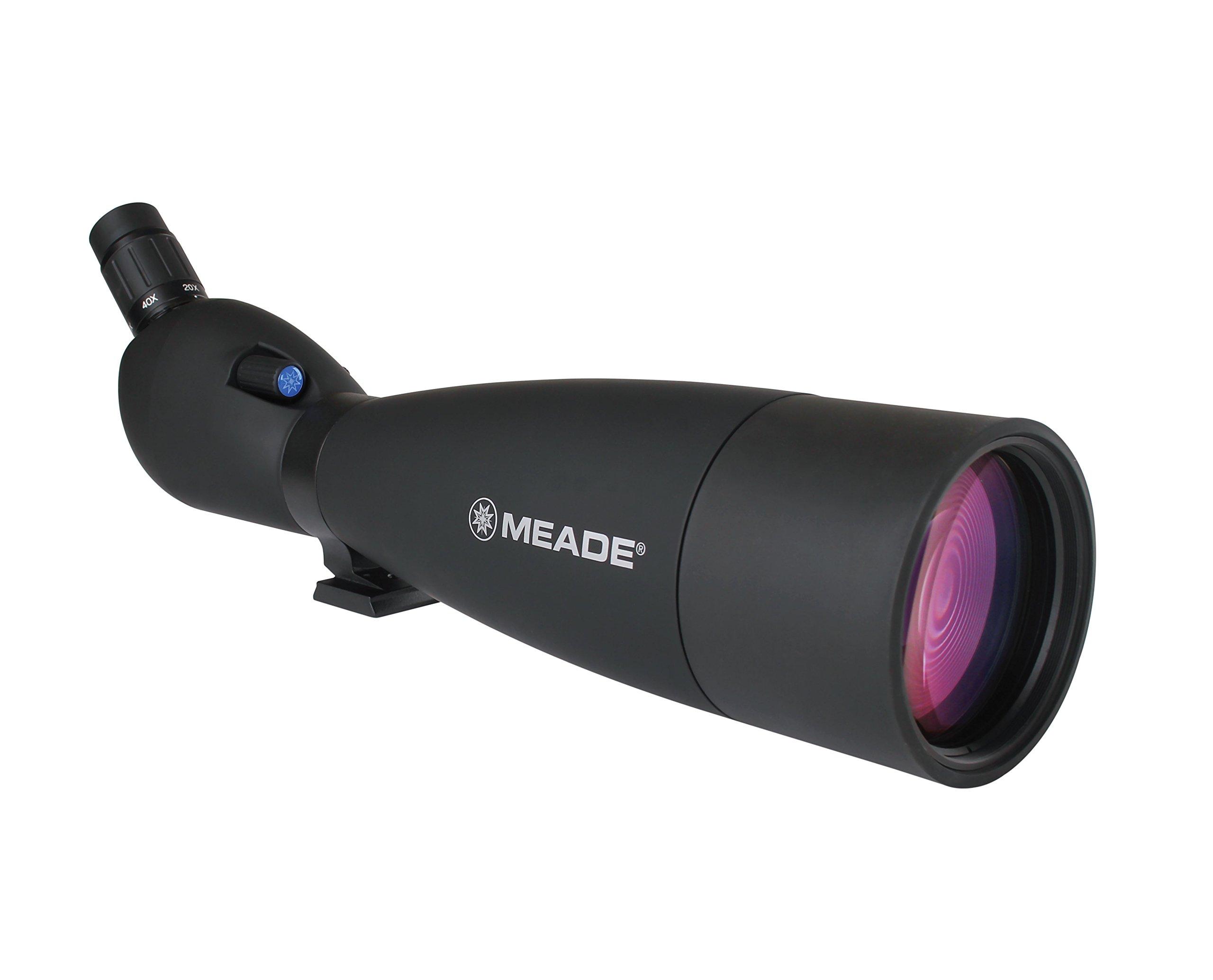 Meade Instruments 126002 Wilderness Spotting Scope - 20-60x100-mm (Black) by Meade Instruments