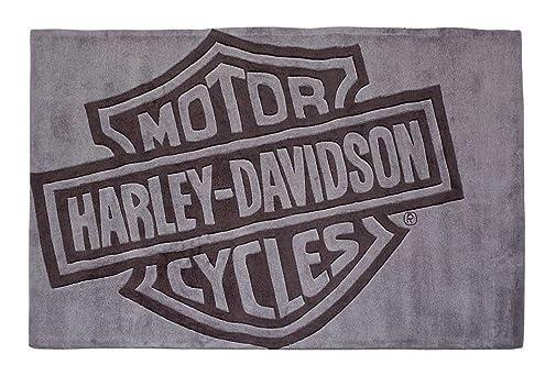HARLEY-DAVIDSON Bar Shield Small Area Rug, Handmade Tufted Rug HDL-19503
