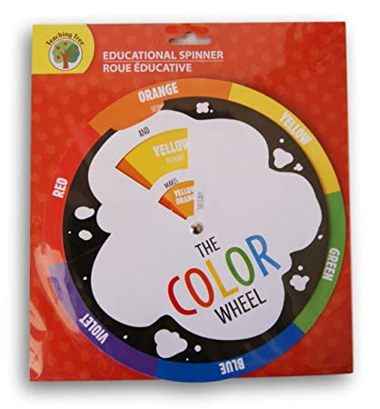 Amazon Com Teaching Tree Educational Spinner Color Wheel Toys