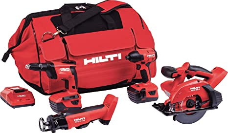 Amazon.com: Hilti 3551249SCO 6 + SD 4500-A + SID 4 + SCM ...
