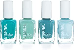 Eternal 4 Collection – 4 Pastel Nail Polish Set: Long Lasting, Quick Dry, Shiny Finish (Mindfulness)